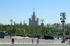 Russia, Moscow - Red Square - view from around St Basil's Cathedral