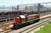 RZD TEM2K-5065 shunting at Vladivostok station