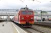 RZD EP1-011 at Khabarovsk 1 with 007E 2152 (P) Vladivostok - Novosibirsk Gl.