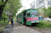 Russia, Khabarovsk - Khabarovsk Trams near Khabarovsk 1 Railway Station