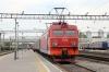 RZD EP1-239 waits to depart Khabarovsk 1 with 099E 0051 Vladivostok - Moskva Yaroslavskaya