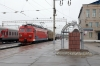 RZD EP1-128 stabled at Shimanovskaya with a van while classmate EP1-124 waits to depart with 325Sh 1917 (P) Khabarovsk 1 - Neryungi Pas.