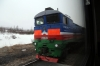 AYaM 2TE10MD-2335B, 2837B & 0278B at Taezhnaya; which later piloted our train back down to Neryungri Gruzovaya