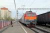 RZD EP1-223 at Severobaikalsk with 075E 0457 (30/05) Neryungri Pas. - Moskva Kazanskaya