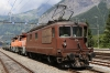 BLS Re4/4 is the spare loco at Kandersteg for the BLS car transporter trains