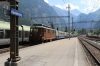 BLS Heritage Ae4/4 #251 approaches Kandersteg with R31161 1458 Brig - Burgdorf heritage special
