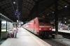 DB 101007 waits to depart Basel SBB with IC208 2313 Basel SBB - Kiel Hbf