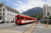 MGB Deh4/4II #91 arrives into Brig Bahnhofplatz with 1137 Andermatt - Visp
