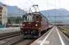 BLS Re4/4 165 at Arth Goldau with a test train formed of SBB stock