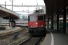 SBB Re4/4 11159 arrives into Arth Goldau with IR2418 0847 Locarno - Zurich Hbf