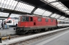 SBB Re4/4 11159 at Zurich Hbf after arrival with IR2418 0847 Locarno - Zurich Hbf