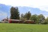 Blonay - Chamby Mega Bernina Gala - RhB Ge4/4 182 runs by Chaulin Musee with 24E 1119 Chaulin Musee - Vers-Chez-Robert