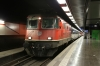 SBB Re4/4II 11200 at Geneve Aeroport after arrival with IR1904 0551 Sion - Geneve Aeroport