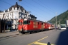MGB Deh4/4I 53 arrives into Brig Bahnhofplatz with 513 0656 Fiesch - Visp
