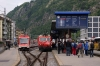 MGB HGe4/4II 101 at Brig with a Glacier Express train GEX902 0852 Zermatt - St Moritz