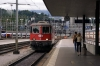 SBB Re4/4 11141 drops onto IR2319 1004 Basel - Locarno at Luzern; 11200 having worked the train into Luzern