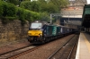 68002 departs Edinburgh with 2G13 1708 Edinburgh - Glenrothes with Thornton