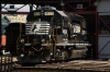 Norfolk Southern GM GP59 4629 at Scranton Steamtown Roundhouse during the 2012 Railfest