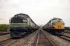 EMD FP7's 902'903 & F3's 664/663 at Scranton during the 2012 Railfest