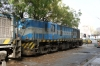 Ex IR YDM4 CC1501 (6600) waits its fate at Dakar old station as it requires a new crankshaft!