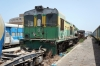 1980 built Alstom BB1604 rots away at Dakar old station