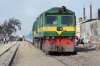 DLW built CC2301 waits departure from Thiaroye with the 1642 Thiaroye - Dakar Cyrnos