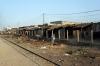 Lineside between Dakar Hann & Pikine stations