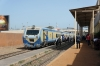 Indian built DMU waits departure from Dakar Cyrnos with T11 1620 Dakar Cyrnos - Thies