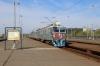 ZS EMU 412083/084 arrives into Novi Beograd with 8037 1057 Batajnica - Ovca
