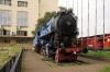 Steam 11022 outside Belgrade station