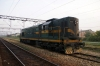 ZS 661158 at Lapovo about to shunt the motor-rail from the rear of 12432 1700 (P) Bar - Belgrade