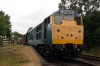 31101 waits to depart Shenton with the 1420 Shenton - Shackerstone