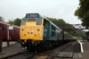 31101 at Shackerstone after arrival with the 1305 Shenton - Shackerstone