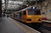 92032 awaits departure from Edinburgh Waverley with 1S26 2145 Euston - Glasgow Central; which ran via the ECML