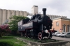 HZ steam loco 51032 outside Rijeka station