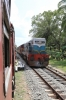 SLR Class M2 (EMD G12) 592 arrives into Moragollagama with 6012 0610 Batticaloa - Colombo Fort