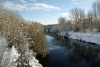 River Dearne, behind Conisbrough Railway Station