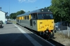 31206 waits at Eridge to drop onto the stock to form the 1230 Eridge - Tunbridge Wells West