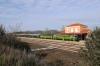PTG Alco Holic 5 Tour Day 3 - ALSA SECN DL500S's 321050/321059 (carrying 2148) wait at Almadenejos-Almaden with 39313 0800 Zafra - Villaverde Bajo