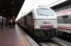 Renfe 334005/334027 wait to depart Madrid Chamartin with 194 1618 Madrid Chamartin - Badajoz