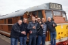 My Stag Do - Aidy, Pelham, Speedo, Brasso, Buzzard & Me with 31563 at the Great Central Railway on day 1