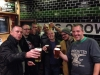 My Stag Do - Aidy, Brasso, Speedo, Flossy, Buzzard, Me, Dan & Pelham at the Lass 'O Gowrie in Manchester on the evening of Day 1