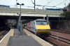 91102 at Edinburgh after arrival with 1S12 1030 Kings Cross - Edinburgh