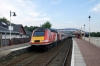 43299/302 at Aviemore with 1E17 0940 Inverness - Kings Cross