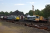 26002, 27050 & 31327 on shed at Strathspey Railway's Aviemore shed