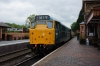 31162 stands at Hampton Loade with the 1145 Kidderminster - Bridgnorth