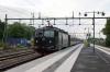 SJ Rc6's 1363/1376 T&T depart Knivsta with 813 0711 Uppsala - Stockholm