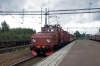 Crocodile 504 & Pa27 T&T arrive into Storvik with 20870 1105 Avesta Krylbo - Gavle Railway Museum (Special Train for Gavle Railway Museum 100 year Electric event)