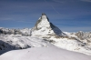 Matterhorn from Gornergratbahn