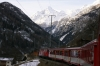 MGB Deh4/4 I #23 heading into Kalpetran with 219 0843 Visp - Zermatt